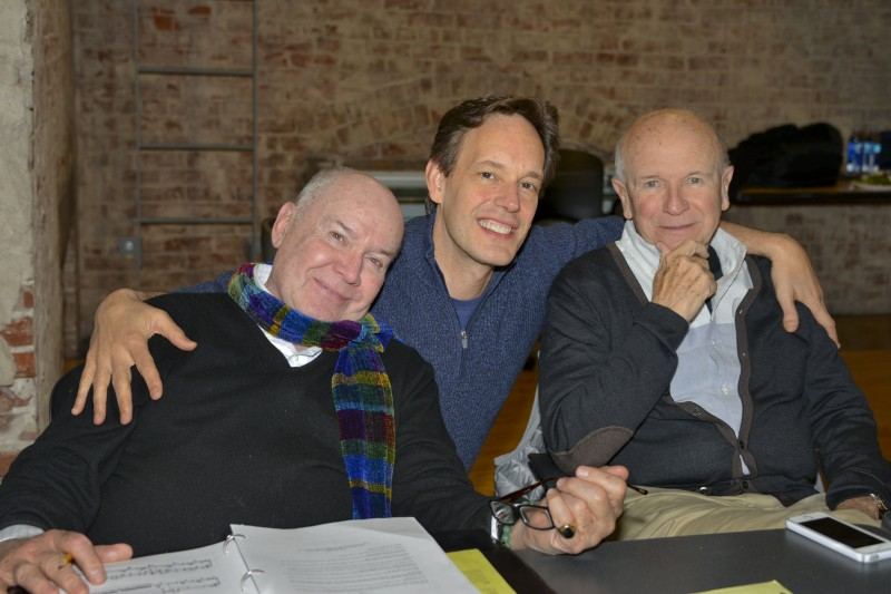 Jack O'Brien, Jake Heggie and Terrence McNally