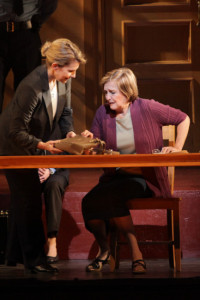 The opera Dead Man Walking by Jake Heggie at Houston Grand Opera, 2011. Joyce DiDonato & Frederica Von Stade.