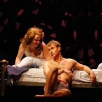 The opera The End Of The Affair by Jake Heggie in Houston. Mary Mills & Philip Cutlip