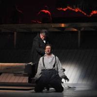 The opera Moby-Dick by Jake Heggie, 2010 - Ben Heppner & Morgan Smith.