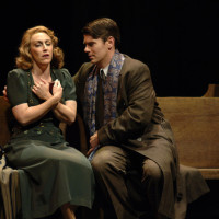 The opera The End Of The Affair by Jake Heggie at The Lyric Opera of Kansas City, 2007. Emily Pulley & Keith Phares