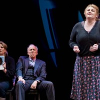 The opera Dead Man Walking by Jake Heggie at Opera Parallèle, 2015. Kristin Clayton, Robert Orth and Catherine Cook.