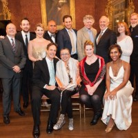 Standing:Patrick Summers, Stephen Costello, Joyce DiDonato, Jonathan Lemalu,Morgan Smith, Gordon Getty, Robert Orth, Lisa Delan & Jay Hunter MorrisSeated: Jake Heggie, Zheng Cao, Nicolle Foland & Talise Trevigne