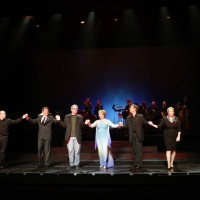 Three Decembers at Houston Grand Opera, 2008Patrick Summers, Keith Phares, Gene Scheer, Frederica von Stade, Jake Heggie & Kristin ClaytonPhoto Brett Coomer