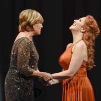 Great Scott by Jake Heggie at The Dallas Opera, 2015. Frederica Von Stade & Joyce DiDonato