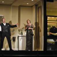 Great Scott by Jake Heggie at The Dallas Opera, 2015. Rodell Rosel, Michael Mayes, Frederica Von Stade & Joyce DiDonato