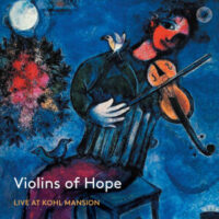 A live recording of the Violins of Hope at Kohl Mansion