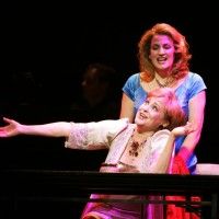 The opera Three Decembers by Jake Heggie at Houston Grand Opera, 2008. Frederica von Stade & Kristin Clayton.